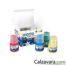 Giotto Tempera Acrilica Decor Effetto Opaco - 6 Colori Assortiti da 25ml