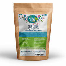 Chia Seeds 500g • Raw Whole Natural Dark • Omega 3 • Colon Cleanse Diet Detox