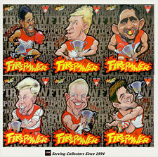 2013-2015 AFL Champions Firepower Caricature Card Club Collection Sydney (12)
