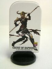 Pathfinder Battles Pawns/Token - #023 cultist of Baphomet-Wrath of the righ