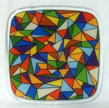 Peggy Karr ? Stained Art Glass Mid Century Modern Tray