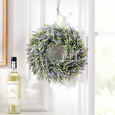 Lavender Flower Wreath Easter Holiday Door Wall Window Home Hanging Decoration
