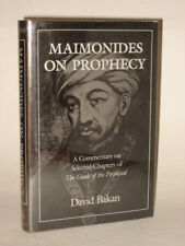 David Bakan - MAIMONIDES ON PROPHECY - 1991 HC/DJ 1stEd