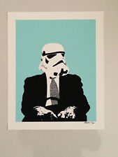 """Poster """"Storm Trooper"""" by Breed Limited edition!"""