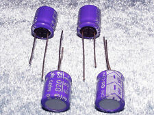 4 pcs of 6.3V 820uF SANYO SEP Aluminum solid Capacitor