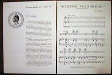 "VANDERBILT UNIVERSITY School Seal, History, Song ""When Vandy Starts to Fight"""