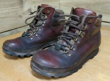 Brasher Lady Classic Walking Boots - Size UK 5 - Brown Leather Hiking Outdoor