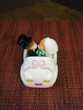 Vintage Love Car Wedding Cake Topper