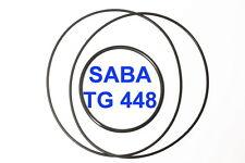 SET CINGHIE SABA TG 448 REGISTRATORE A BOBINE BOBINA EXTRA FORTI FRESCHE TG448