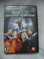 Fantastic Four Rise Of The Silver Surfer Playstation 2 (2007) PS2 Complete game