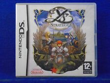 *ds YS STRATEGY (NI) A Real Time Strategy Game RTS Lite DSi 3DS PAL REGION FREE