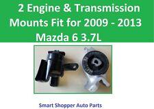 2 Engine & Transmission Mounts Fit for 2009 2010 2011 2012 2013 Mazda 6 3.7L