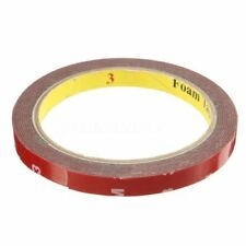5 x Auto Truck Car Acrylic Foam Double Sided Attachment Tape Adhesive 3m x 10mm