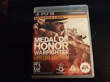Replacement Case (NO GAME) MEDAL OF HONOR WARFIGHTER  LE  PLAYSTATION 3 PS3