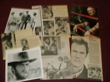 Clint Eastwood - Clippings