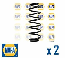 2 x REAR AXLE SUSPENSION COIL SPRING PAIR SET SPRINGS NAPA OE QUALITY NCS1119