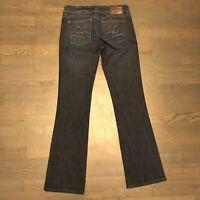 DL1961 Milano Bootcut 4 Way Stretch Denim Jeans Dark Blue Woman's Size 29