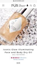 Pur Iconic Glow Illuminating Facr And Body Dry Oil 1 Fl Oz New