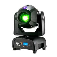 American DJ FOCUS due Spot 75 W LED Moving Head 3 W UV Gobo DJ Discoteca Disco