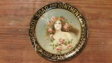 Antique 1910 Vintage Resinol Soap and Ointment Tip Tray Ashtray