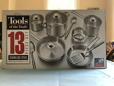 13 Piece Stainless Steel Induction Ready Dishwasher Safe Cookware Set