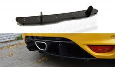 RENAULT MEGANE MK3 RS DTM Heckdiffusor 3 RS Heckansatz CNC Heck für 2010 - 2015