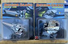 2013 SDCC Exclusive Battlestar Galactica Chrome Viper & Cylon Raider