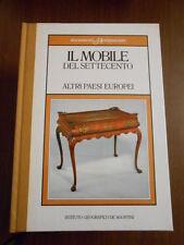 DOCUMENTI D'ANTIQUARIATO - IL MOBILE DEL SETTECENTO ALTRI PAESI EUROPEI- SC.156