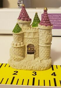 * Fairy Garden  Doll House Mini * Sand Castle* Hand Painted Ceramic * New