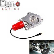 """DYNO  2.5"""" E-Cut Out Valve Electric Exhaust Catback Downpipe System Motor Red"""