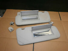 PEUGEOT 407 2004-2008 MK1 PAIR OF SUN VISORS WITH 2 MIRRORS NO LIGHTS