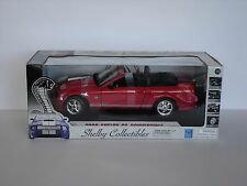 2008 Shelby GT Convertible, red - 1/18 - Shelby Collectibles / Revell (09083)
