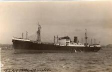 MS Clan MacDougall sunk 1941 unused RP old pc