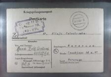 Camp Oflag IID Grossborn 1944 POW Prisoner of War Kriegsgefangenenpost (K18b)