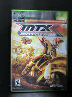 2004 Activision MTX: Mototrax Racing Video Game Disc For Microsoft Xbox Tested
