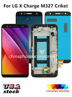 Fit For LG X Charge M327 Criket LCD Touch Screen Digitizer with / no Frame