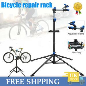 Adjustable Bicycle Bike Repair Stand Folding Mechanic Maintenance Workstand Rack