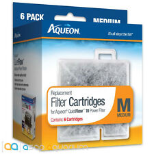 Aqueon QuietFlow Replacement Filter Cartridges Medium 6pk Fast Free USA Shipping