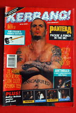 Pantera On Cover +4 Killer Pages! 1993 Nirvana Anthrax G'N'R Fnm Uk Magazine
