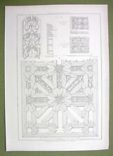 ARCHITECTURE PRINT : DOOR at Palazzo Reale at Palermo