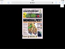 Gazzetta dello sport Germania campione del Mondo h