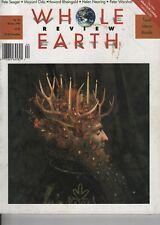 WHOLE EARTH REVIEW No.84 (1994) PETE SEEGER - MAYUMI ODA - HELEN  NEARING
