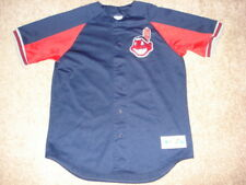 Vintage Authentic Cleveland Indians Kenny Lofton Majestic Jersey SEWN L RARE