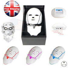 LED Photon Face&Neck Mask Skin Rejuvenation Wrinkle Acne Removal Anti-aging Mask