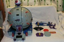 Vintage TMNT Technodrome Playset With Accessories Complete