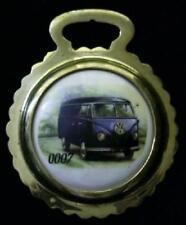 NEW 0007 VW VAN Ceramic Harness Horse Brass Volkswagen Van Gift WOW YOUR WALLS!