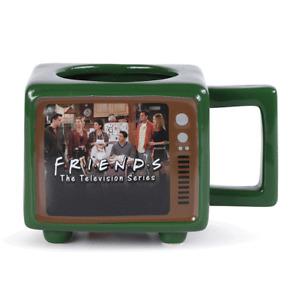 Boxed Mug Ceramic Gift Heat Change - Retro TV Shaped -  FRIENDS - 25955