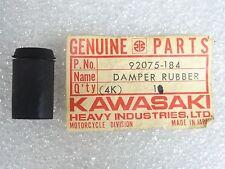 Kawasaki NOS NEW  92075-184 Side Cover Rubber Damper H1 KH Mach III 1969-76