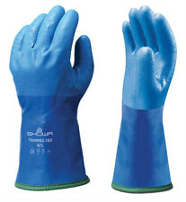1 x Pair Of Showa 282 TEMRES Gloves - Waterproof Breathable Insulated - Thermal