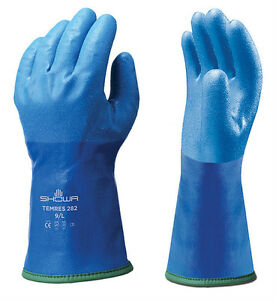 1 x Pair Showa TEMRES Gloves Waterproof Breathable Insulated Thermal (282)